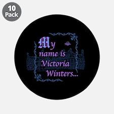 "Victoria Winters Color 3.5"" Button (10 pack)"