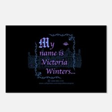 Victoria Winters Color Postcards (Package of 8)