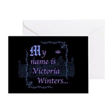 Victoria Winters Color Greeting Card