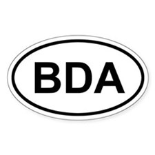 Bermuda BDA Stickers
