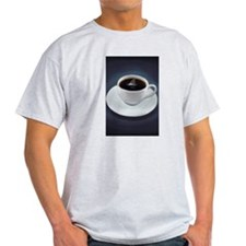 Shark Fin Coffee T-Shirt