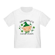 Grandma's Lucky Charm Boy T