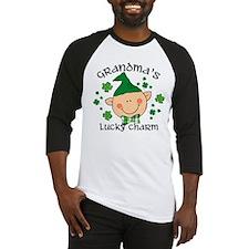 Grandma's Lucky Charm Boy Baseball Jersey