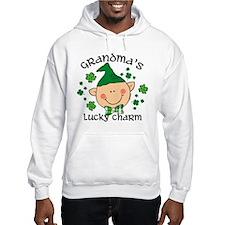 Grandma's Lucky Charm Boy Hoodie