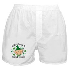 Grandma's Lucky Charm Boy Boxer Shorts