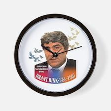 Hrant Dink Wall Clock