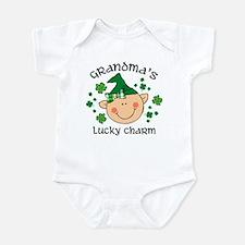 Grandma's Lucky Charm Girl Infant Bodysuit