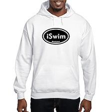 iSwim Black Oval Hoodie
