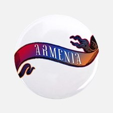 "Armenian Flag Banner 3.5"" Button"