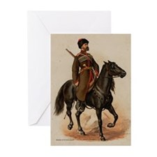 Cossack Soldier Greeting Cards (Pk of 10)