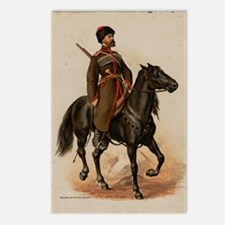 Cossack Soldier Postcards (Package of 8)