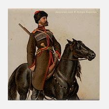 Cossack Soldier Tile Coaster