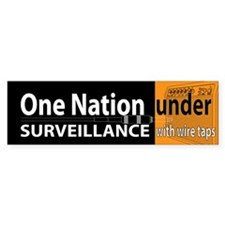 Anti-Patriot Act: Under Surveillance (Bumper)