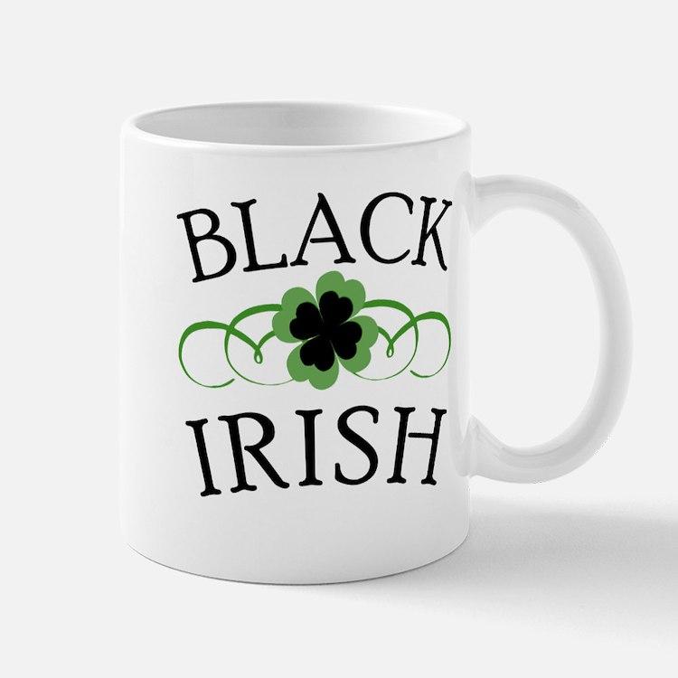 Black irish coffee mugs black irish travel mugs cafepress - Fancy travel coffee mugs ...