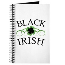 Black Irish with Fancy Shamrock Journal
