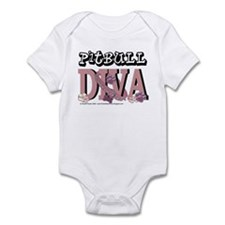 Pitbull DIVA Infant Bodysuit