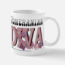 Pomeranian DIVA Mug