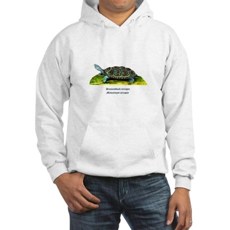 Diamondback Terrapin Hooded Sweatshirt