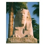 Luxor Sphinx Small Poster