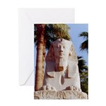 Luxor Sphinx Greeting Card