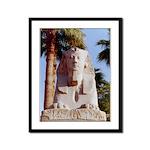 Luxor Sphinx Framed Panel Print