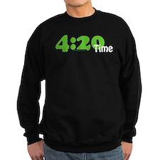 4:20 Time Sweatshirt