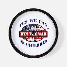 Unique War is not pro life Wall Clock