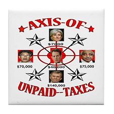 Funny Economic crisis Tile Coaster