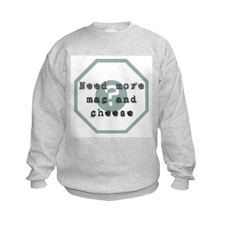 Mac And Cheese Kids Sweatshirt