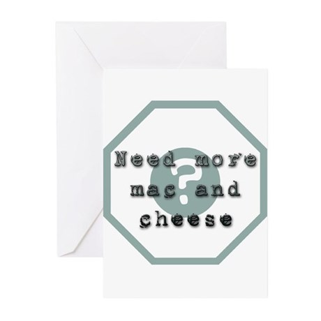 Mac And Cheese Greeting Cards (Pk of 10)
