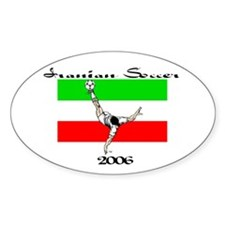 World Cup 2006 Oval Decal