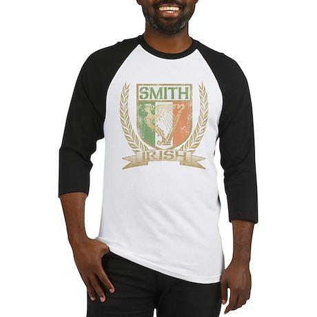 Smith Irish Crest Baseball Jersey