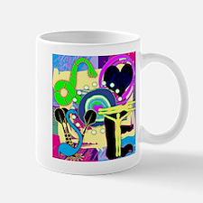 L-O-S-T-L-O-V-E Square Mug