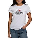 I Love Swaziland Women's T-Shirt