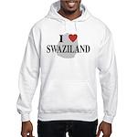 I Love Swaziland Hooded Sweatshirt