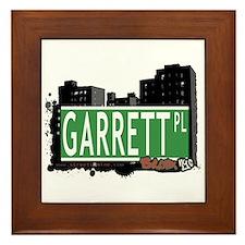 Garrett Pl, Bronx, NYC Framed Tile
