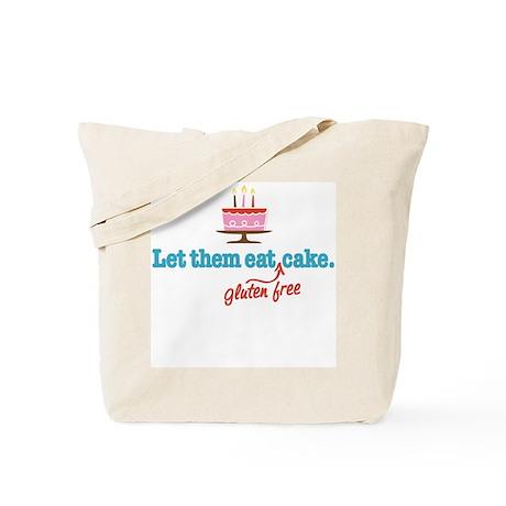 Let Them Eat GF Cake Tote Bag