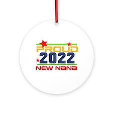 2014 Proud New Nana Ornament (Round)