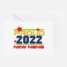 2017 Proud New Nana Greeting Card