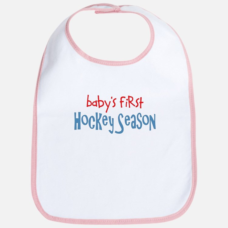 Baby's 1st Hockey Season Bib