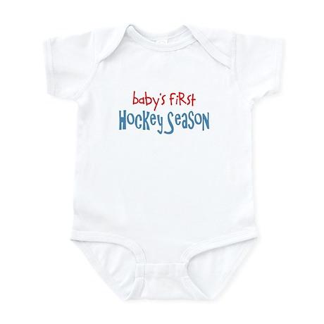 Baby's 1st Hockey Season Infant Bodysuit