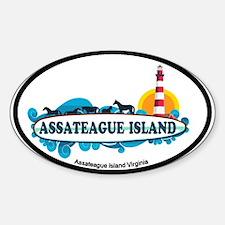 Assateague Island VA Decal