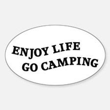 Enjoy Life Go Camping Decal