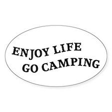 Enjoy Life Go Camping Decal