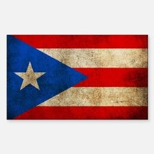 Puerto Rico Sticker (Rectangle)