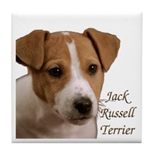 """Jack Russell Terrier"" Tile Coaster"
