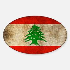 Lebanon Sticker (Oval)