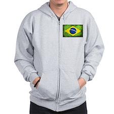 Brazil Zip Hoodie