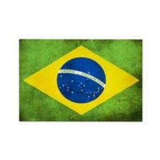 Brazil Rectangle Magnet (10 pack)