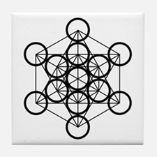 Metatron's Cube - Tile Coaster